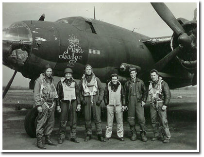 Harry D. Porter with flight crew - Arlington Camera