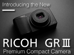 Ricoh GR III Premium Compact Camera, available at Arlington Camera