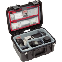 SKB iSeries 1309-6 Case with Think Tank-Designed Photo Dividers & Lid Organizer (Black)
