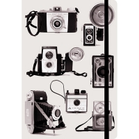 Galison Vintage B&W Cameras Journal