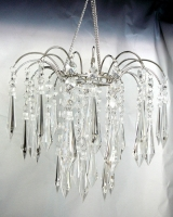 StudioProps Acrylic Crystal Chandelier - Clear