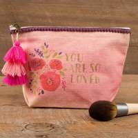 Natural Life Canvas Pouch - You Are So Loved