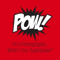 POW! I'm A Photographer - What's Your Superpower T-Shirt