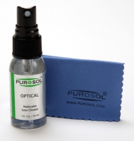 Purosol Optical 1oz Cleaning Kit with Small Microfiber Cloth