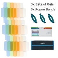 ExpoImaging Rogue Flash Gels Color Correction Kit (3 Sets of 6 Gels)