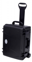 Seahorse SE-920D Wheeled Protective Case with Adjustable Divider Tray, Black
