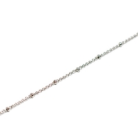 Beaucoup Designs Necklace Station Chain, Silver