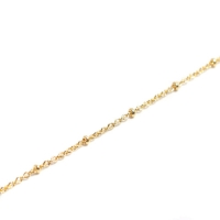 Beaucoup Designs Necklace Station Chain, Gold - 24""
