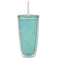 Slant Collections 22oz Travel Tumbler - Blue