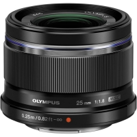 Olympus 25mm F1.8 M.Zuiko Premium Micro Four Thirds Lens (Black)