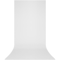 Westcott X-Drop 5x12' Wrinkle-Resistant Backdrop - High-Key White Sweep