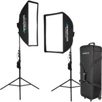 Westcott Solix 2-Light Kit by Jen Rozenbaum