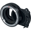 Canon Drop-In Filter Mount Adapter EF-EOS R with Circular Polarizing Filter A