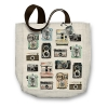 Molly & Rex Camera Canvas Tote Bag