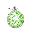 Beaucoup Designs Aimez Charm Silver Peridot (August)