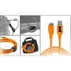 Tether Tools Starter Tethering Kit w/ USB 3.0 Micro-B Cable, 15' Orange