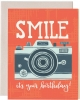 1Canoe2 Birthday Smile Camera Card