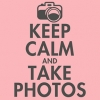 Keep Calm and Take Photos T-Shirt - Grey