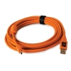 Tether Tools 15' TetherPro USB 2.0 A Male to Mini-B 5-Pin Gold Plated Cable