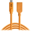 Tether Tools TetherPro USB Type-C to USB Type-A Extension Cable, 15' Orange)