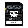 Delkin Devices Black 32GB SDHC UHS-I Memory Card