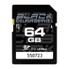 Delkin Devices Black 64GB SDHC UHS-I Memory Card
