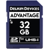 Delkin Devices 32GB Advantage UHS-I SDHC Memory Card