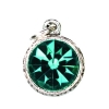 Beaucoup Designs Aimez Charm Silver Blue Zircon (December)