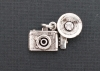 Beaucoup Designs Camera Flash Charm, Silver