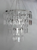 StudioProps Miniature 3 Tiered Acrylic Chandelier