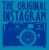 The Original Instagram T-Shirt - Blue