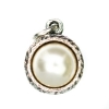 Beaucoup Designs Aimez Charm Silver Pearl (June)