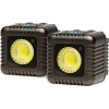 Lume Cube 1500 Lumen Light (Gunmetal Grey, Two-Pack)