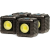 Lume Cube 1500 Lumen Light (Gunmetal Grey, Four-Pack)