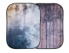 Lastolite Urban Collapsible Distressed Wall/Wood Fence Background - 5x7'