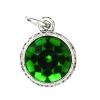 Beaucoup Designs Aimez Charm Silver Emerald (May)