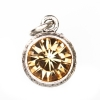 Beaucoup Designs Aimez Charm Silver Yellow Topaz (November)