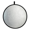 "ExpoImaging Rogue Collapsible 2-in-1 Reflector (32"", Silver/White)"