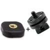 "Tether Tools Rock Solid 1/4""-20 Mighty Mount Adhesive Tripod Adapter with Hot Shoe"