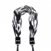 Capturing Couture Dani Camera Scarf Camera Strap - Black & White
