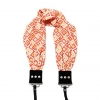 Capturing Couture Geovanie Camera Scarf Camera Strap - Coral