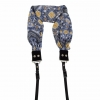 Capturing Couture Blooming Lace Scarf Camera Strap - Blue