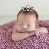 Daisy Baby Pearl Heart Crown