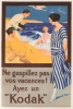 Found Images Press Kodak French Magnet