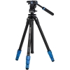 Benro TSL08AS2CSH Slim Aluminum-Alloy Video Tripod Kit