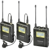 Saramonic UWMIC9 RX9 + TX9 + TX9 96-Ch Digital UHF Wireless Lavalier Microphone System