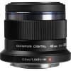 Olympus 45mm F1.8 M. Zuiko Digital ED Lens (Black)