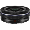 Olympus 14-42mm F3.5-5.6 EZ M.Zuiko Micro Four Thirds Lens (Black)