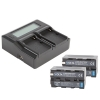 Volta NP-F770 Li-Ion Battery and Dual Charger Kit