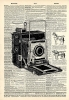 Vintage Dictionary Art 8x10' Print - Graflex Camera